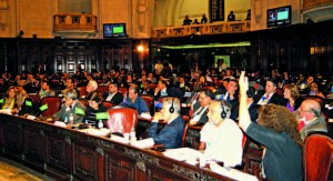 General assembly at the Tiradentes Palace