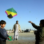 Kids flying kites in Kabul. Credit: Najibullah Musafer / Killid
