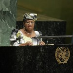 Foreign Minister Ngozi Okonjo-Iweala of Nigeria Addresses the UN General Assembly. Credit: UN Photo/Devra Berkowitz
