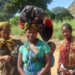 Young mothers:  In Cabo Delgado province, by age 15, one out of three girls is married. Credit: Mercedes Sayagues