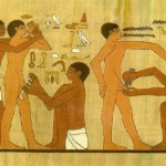 Ancient Egyptians get the snip
