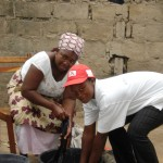 Caregiving in Mozambique. Photo: Janine Morna